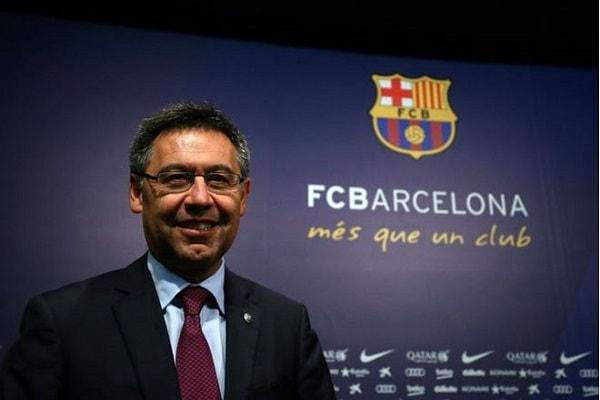 Chủ tịch CLB Barcelona Josep Maria Bartomeu