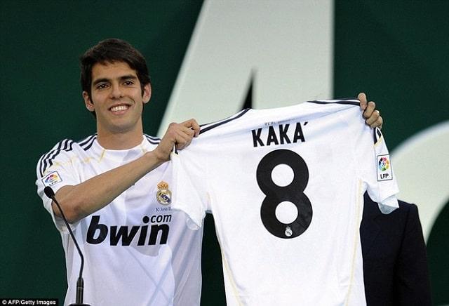 Kaka đến với Real Madrid