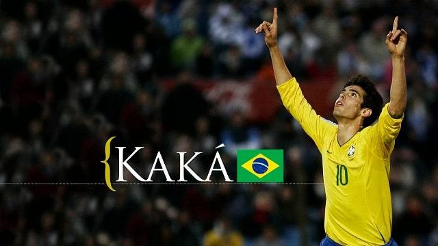 Kaka trong màu áo của Brazil