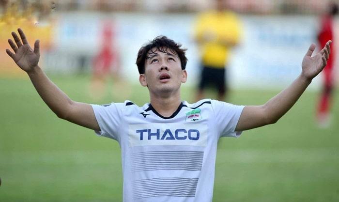 Minh Vương là cầu thủ không thể thiếu của HAGL