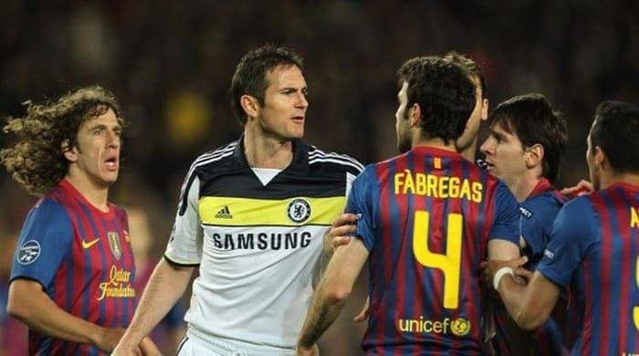 Chelsea và Barcelona thường xuyên chạm trán nhau ở các giải đấu Châu Âu