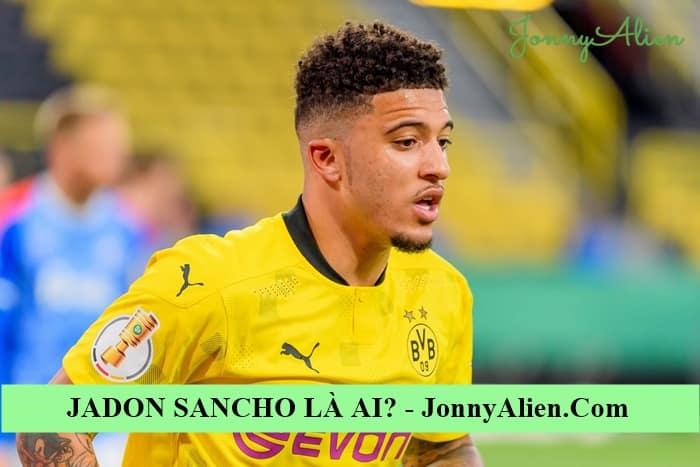 Jadon Sancho là trụ cột của đội bóng nước Anh