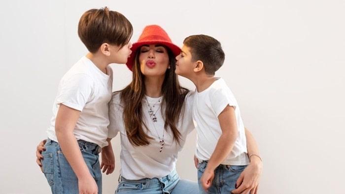 Vợ và 2 con của Lorenzo Insigne