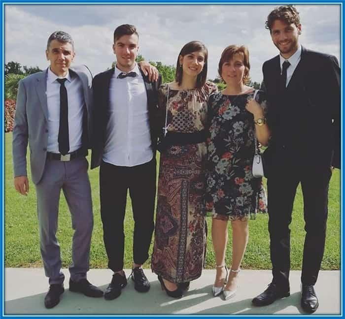Gia đình của Manuel Locatelli