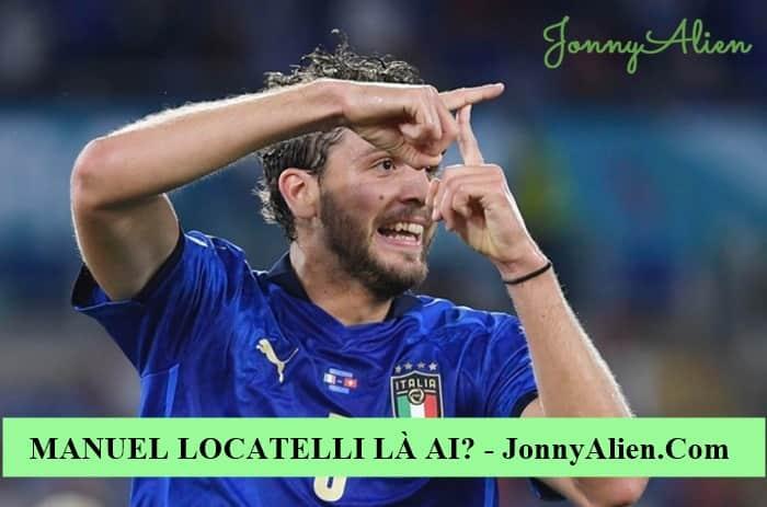 Manuel Locatelli ăn mừng chiến thắng tạo chữ T