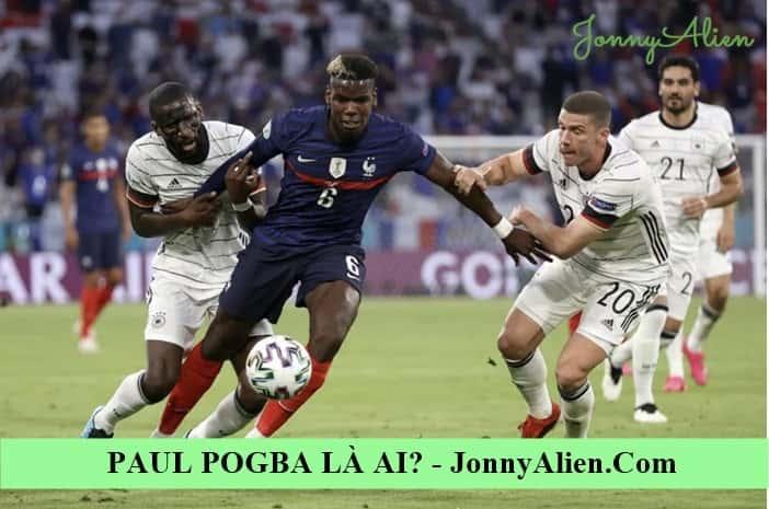 Paul Pogba trong màu áo đội tuyển Pháp