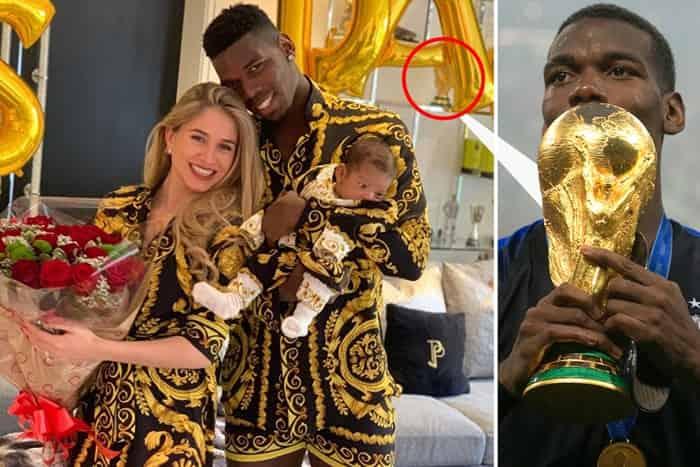 Vợ và con trai của Paul Pogba