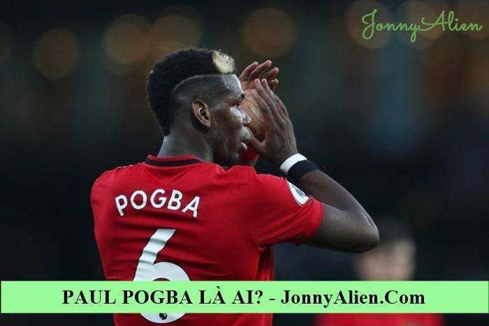 Paul Pogba trong màu áo Man United