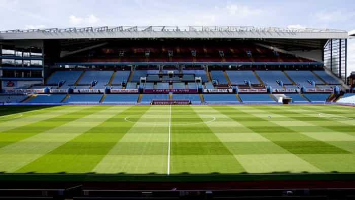 Bên trong sân vận động của Aston Villa