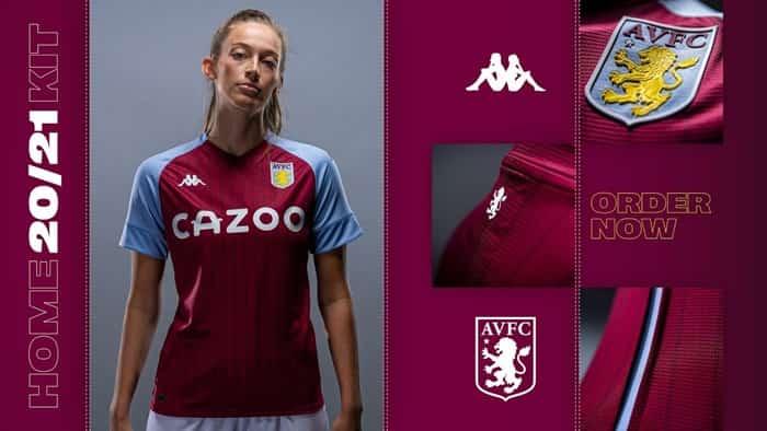 Trang phục thi đấu sân nhà của Aston Villa