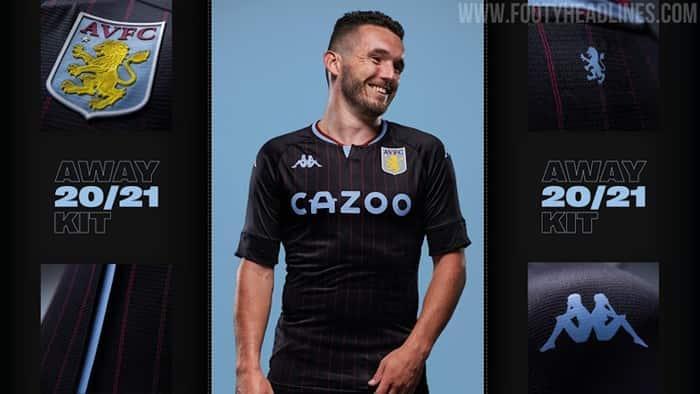 Trang phục thi đấu sân khách của Aston Villa