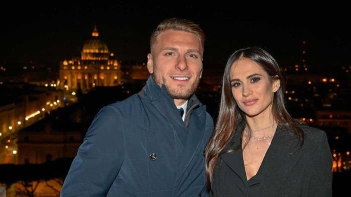 Ciro Immobile và vợ