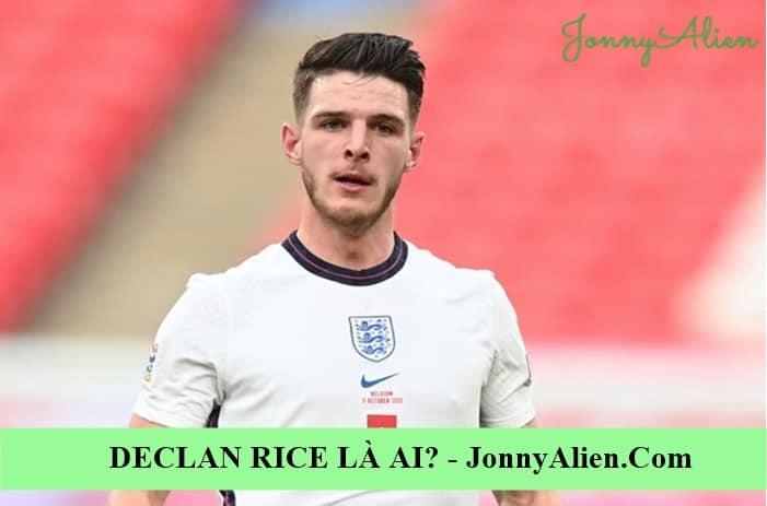 Phong cách chơi bóng của Declan Rice