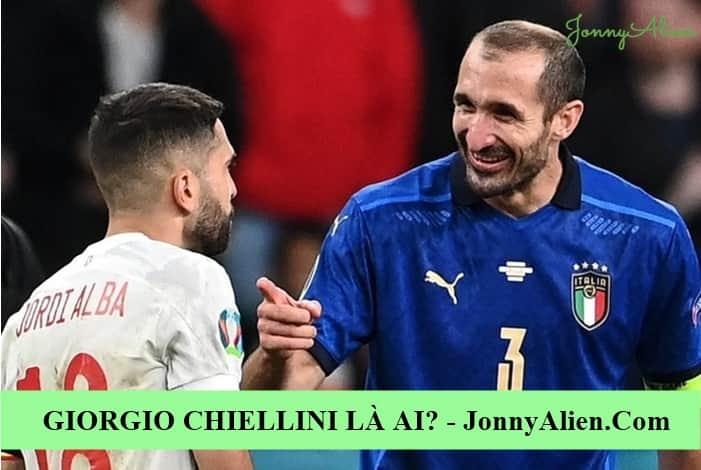 Giorgio Chiellini là đội trưởng của đội tuyển quốc gia Ý