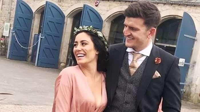 Harry Maguire và vợ