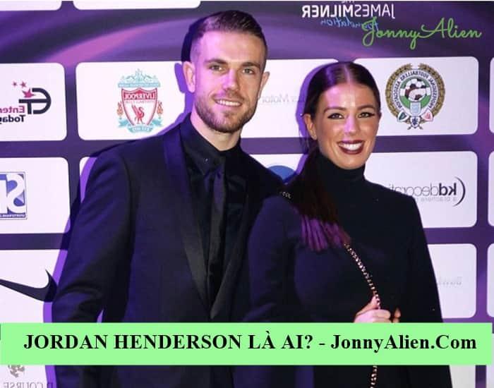 Vợ của Jordan Henderson