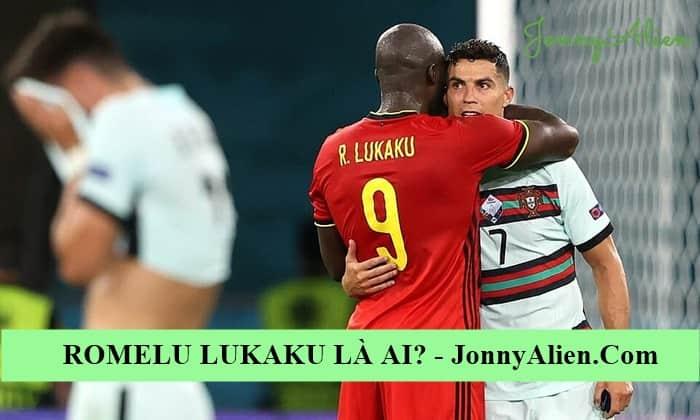 Romelu Lukaku an ủi CR7 sau khi Bồ Đào Nha không lọt vào tứ kết EURO 2020